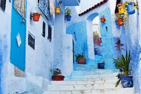 モロッコ・シャウエンの行き方は?なぜ青い?インスタ映えの街へ行こう!