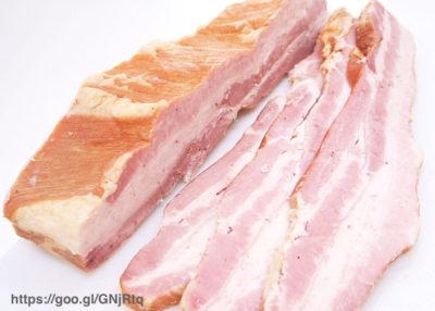 ベーコンは生で食べれるか?加熱食肉製品と非加熱食肉製品の違いは?
